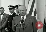Image of President Dwight D Eisenhower Washington DC USA, 1953, second 55 stock footage video 65675020754