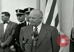 Image of President Dwight D Eisenhower Washington DC USA, 1953, second 58 stock footage video 65675020754