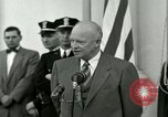 Image of President Dwight D Eisenhower Washington DC USA, 1953, second 59 stock footage video 65675020754