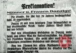 Image of Invasion of Danzig by German troops in 1939 Danzig Sudetenland, 1939, second 22 stock footage video 65675020755