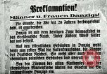 Image of Invasion of Danzig by German troops in 1939 Danzig Sudetenland, 1939, second 23 stock footage video 65675020755