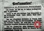 Image of Invasion of Danzig by German troops in 1939 Danzig Sudetenland, 1939, second 24 stock footage video 65675020755