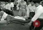 Image of wounded soldiers Tokyo Japan, 1950, second 58 stock footage video 65675020766