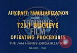 Image of T2J-1 Buckeye United States USA, 1960, second 15 stock footage video 65675020781