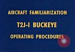 Image of T2J-1 Buckeye United States USA, 1960, second 16 stock footage video 65675020781