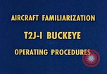 Image of T2J-1 Buckeye United States USA, 1960, second 17 stock footage video 65675020781