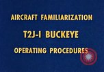 Image of T2J-1 Buckeye United States USA, 1960, second 20 stock footage video 65675020781