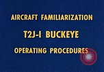 Image of T2J-1 Buckeye United States USA, 1960, second 21 stock footage video 65675020781