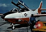 Image of T2J-1 Buckeye United States USA, 1960, second 24 stock footage video 65675020783