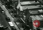 Image of Residents outdoors in their neighborhood Bronx New York City USA, 1965, second 8 stock footage video 65675020823