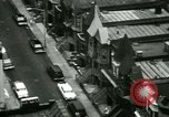 Image of Residents outdoors in their neighborhood Bronx New York City USA, 1965, second 9 stock footage video 65675020823