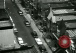 Image of Residents outdoors in their neighborhood Bronx New York City USA, 1965, second 10 stock footage video 65675020823