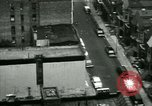Image of Residents outdoors in their neighborhood Bronx New York City USA, 1965, second 12 stock footage video 65675020823
