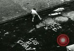 Image of Residents outdoors in their neighborhood Bronx New York City USA, 1965, second 48 stock footage video 65675020823