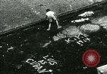 Image of Residents outdoors in their neighborhood Bronx New York City USA, 1965, second 49 stock footage video 65675020823
