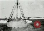 Image of Captain Pedersen of Whaler Herman trades with Eskimos Indian Point Alaska USA, 1915, second 3 stock footage video 65675020846