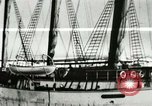 Image of Captain Pedersen of Whaler Herman trades with Eskimos Indian Point Alaska USA, 1915, second 13 stock footage video 65675020846