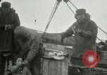 Image of Captain Pedersen of Whaler Herman trades with Eskimos Indian Point Alaska USA, 1915, second 22 stock footage video 65675020846