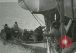 Image of Captain Pedersen of Whaler Herman trades with Eskimos Indian Point Alaska USA, 1915, second 48 stock footage video 65675020846