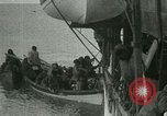 Image of Captain Pedersen of Whaler Herman trades with Eskimos Indian Point Alaska USA, 1915, second 50 stock footage video 65675020846