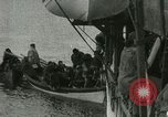 Image of Captain Pedersen of Whaler Herman trades with Eskimos Indian Point Alaska USA, 1915, second 53 stock footage video 65675020846