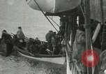 Image of Captain Pedersen of Whaler Herman trades with Eskimos Indian Point Alaska USA, 1915, second 54 stock footage video 65675020846