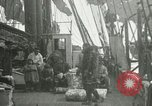 Image of Captain Pedersen of Whaler Herman trades with Eskimos Indian Point Alaska USA, 1915, second 62 stock footage video 65675020846