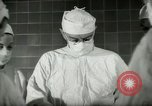 Image of operating room surgery New York United States USA, 1948, second 6 stock footage video 65675020858