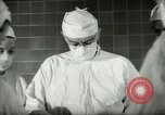 Image of operating room surgery New York United States USA, 1948, second 8 stock footage video 65675020858
