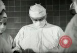 Image of operating room surgery New York United States USA, 1948, second 9 stock footage video 65675020858