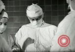 Image of operating room surgery New York United States USA, 1948, second 10 stock footage video 65675020858
