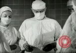 Image of operating room surgery New York United States USA, 1948, second 14 stock footage video 65675020858