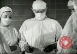 Image of operating room surgery New York United States USA, 1948, second 15 stock footage video 65675020858