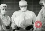 Image of operating room surgery New York United States USA, 1948, second 16 stock footage video 65675020858