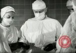 Image of operating room surgery New York United States USA, 1948, second 17 stock footage video 65675020858