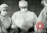 Image of operating room surgery New York United States USA, 1948, second 18 stock footage video 65675020858