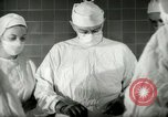 Image of operating room surgery New York United States USA, 1948, second 19 stock footage video 65675020858