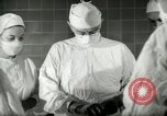 Image of operating room surgery New York United States USA, 1948, second 20 stock footage video 65675020858
