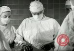 Image of operating room surgery New York United States USA, 1948, second 22 stock footage video 65675020858