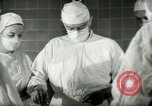 Image of operating room surgery New York United States USA, 1948, second 23 stock footage video 65675020858