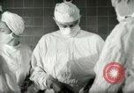 Image of operating room surgery New York United States USA, 1948, second 25 stock footage video 65675020858
