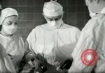 Image of operating room surgery New York United States USA, 1948, second 27 stock footage video 65675020858