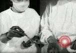 Image of operating room surgery New York United States USA, 1948, second 62 stock footage video 65675020858