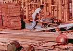 Image of House construction United States USA, 1958, second 5 stock footage video 65675020859