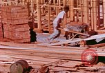 Image of House construction United States USA, 1958, second 6 stock footage video 65675020859
