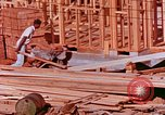 Image of House construction United States USA, 1958, second 13 stock footage video 65675020859