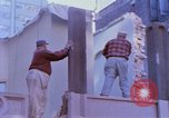 Image of construction New York City USA, 1958, second 11 stock footage video 65675020870