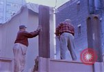 Image of construction New York City USA, 1958, second 13 stock footage video 65675020870