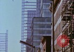 Image of construction New York City USA, 1958, second 52 stock footage video 65675020870