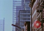 Image of construction New York City USA, 1958, second 53 stock footage video 65675020870